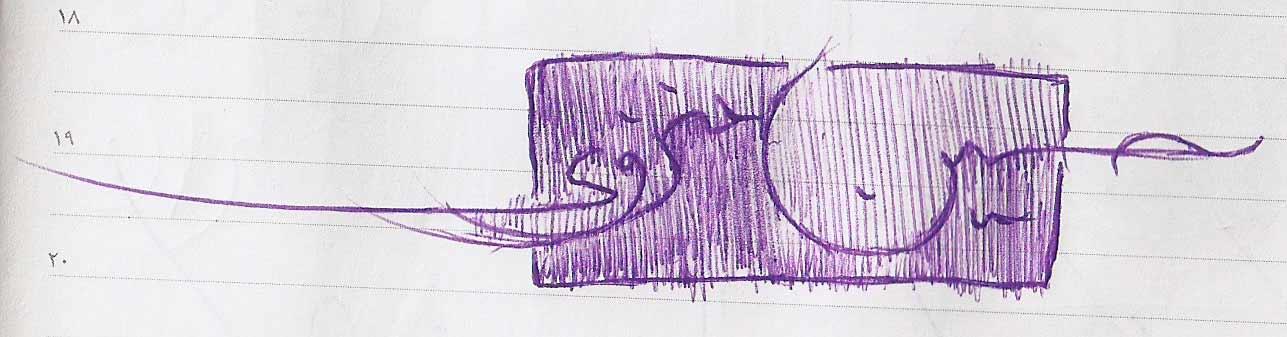 شهاب سیاوش - ابداع دستخط خودکاری بر اساس خط معلی و شروع «خودکارنگاری»