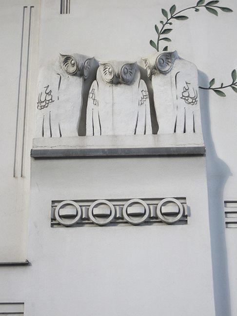 شهاب سیاوش - تاریخچهٔ انشعاب وین و دار و دستهٔ گوستاو کلیمت