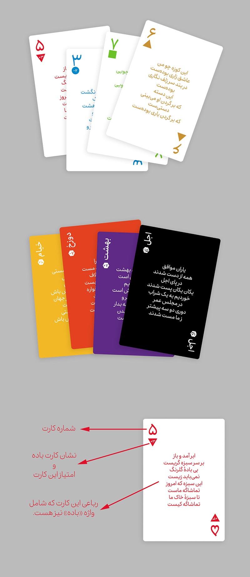 شهاب سیاوش - «سَبُکباز» - بازی کارتی ایرانی بر اساس فلسفه و رباعیات خیام