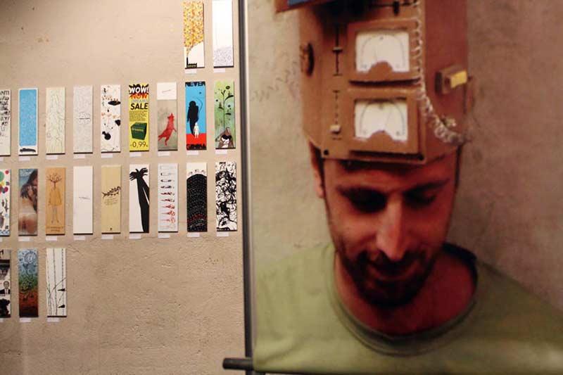 شهاب سیاوش - فینالیست فراخوان پوستر TenImages 2008 در ایتاکا، یونان