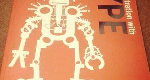 شهاب سیاوش - چاپ ۷ اثر در کتاب New illustration with Type، انگلستان
