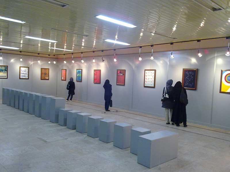 شهاب سیاوش - اولین نمایشگاه انفرادی پوستر در رشت: «عمق هفت متر در»