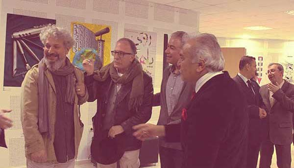 شهاب سیاوش - دو اثر در نمایشگاه بینالمللی دعوتی پوستر ترکیه 2013